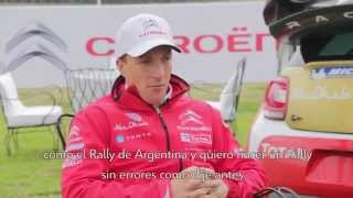 Citroën WRC 2014 - Entrevista a Kris Meeke - Rally de Argentina