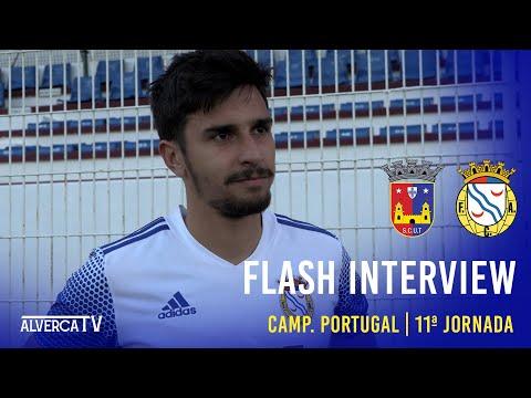 SCU Torreense 1-2 FC Alverca | Flash Interview