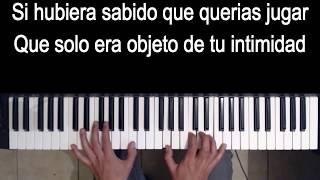 Me Hubieras Dicho - Joss Favela - Karaoke Acustico Piano - Leo Mart Karaoke