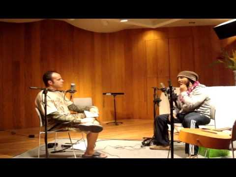Ziggy Marley complete 2010 studio interview / performance session