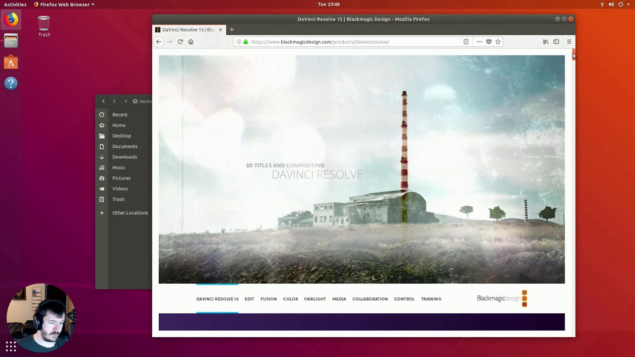 DaVinci Resolve 15 Setup on Ubuntu (AMD GPU)