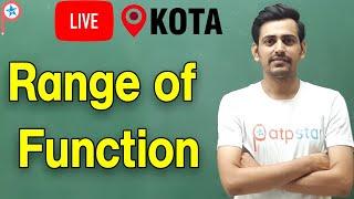 Range of Function - Fun¢tion | Class 12 | IIT JEE | ATP STAR | IIT JEE Math | Amit Mahal Sir