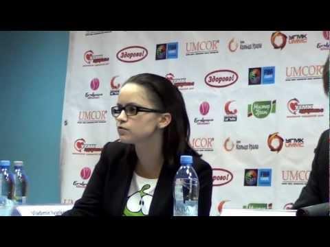 UMMC VS NOVI ZAGREB. Post game, 31.10.2012