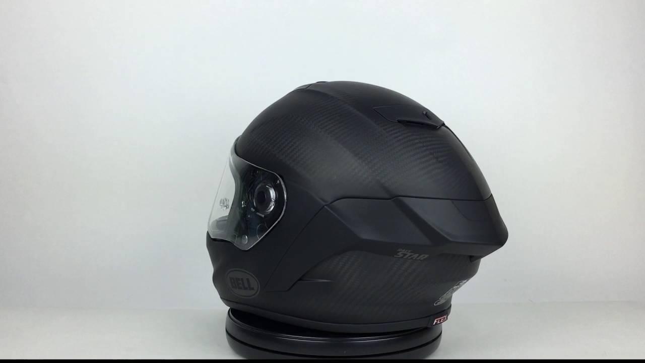 d412e77a Bell Race Star Matte Black Helmet 360 View - YouTube