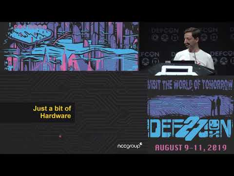 Daniel Romero - Why You Should Fear Your Mundane Office Equipment - DEF CON 27 Conference