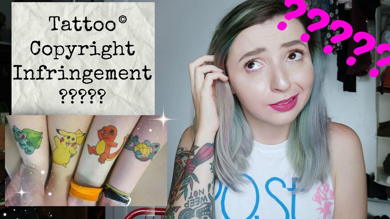 Tattoo Copyright Infringement? Is this legal? Tattoo Talk ...