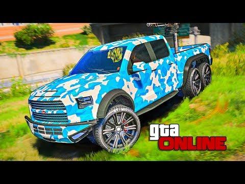 GTA 5 Online Секретный авто Vapid CaraCara! В ГТА 5 добавят огромный Джип с пулеметом!