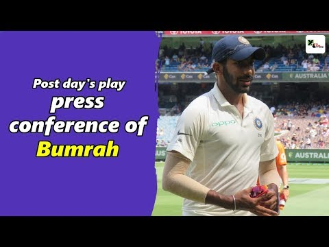 Watch: Jasprit Bumrah's post day 3 press-conference | Boxing Day Test