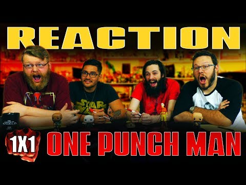 One Punch Man 1x1 REACTION!!