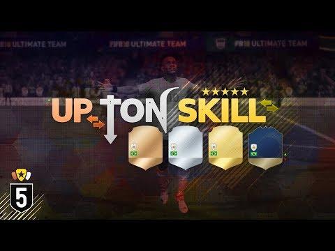 UP TON SKILL! #5 - FIFA 18 Ultimate Team