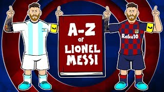 📕A-Z of LIONEL MESSI📘