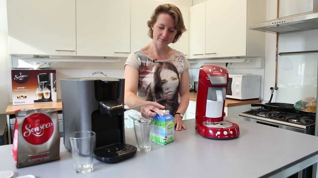senseo latte duo review consumentenbond youtube. Black Bedroom Furniture Sets. Home Design Ideas