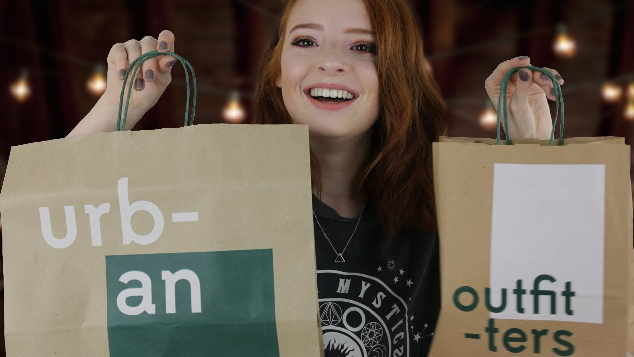2ccb3de6ac9 Urban Outfitters Haul, Girl's Clothes Try On Haul | NiliPOD - YouTube