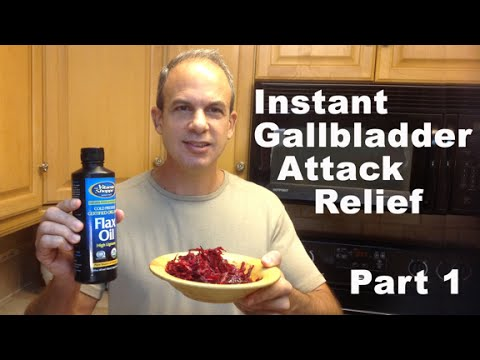 Gallbladder Attack Relief Remedy - 5 POWERFUL Recipes For