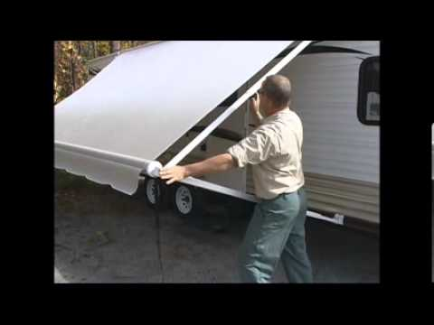 1 How To Open A Rv Awning Youtube