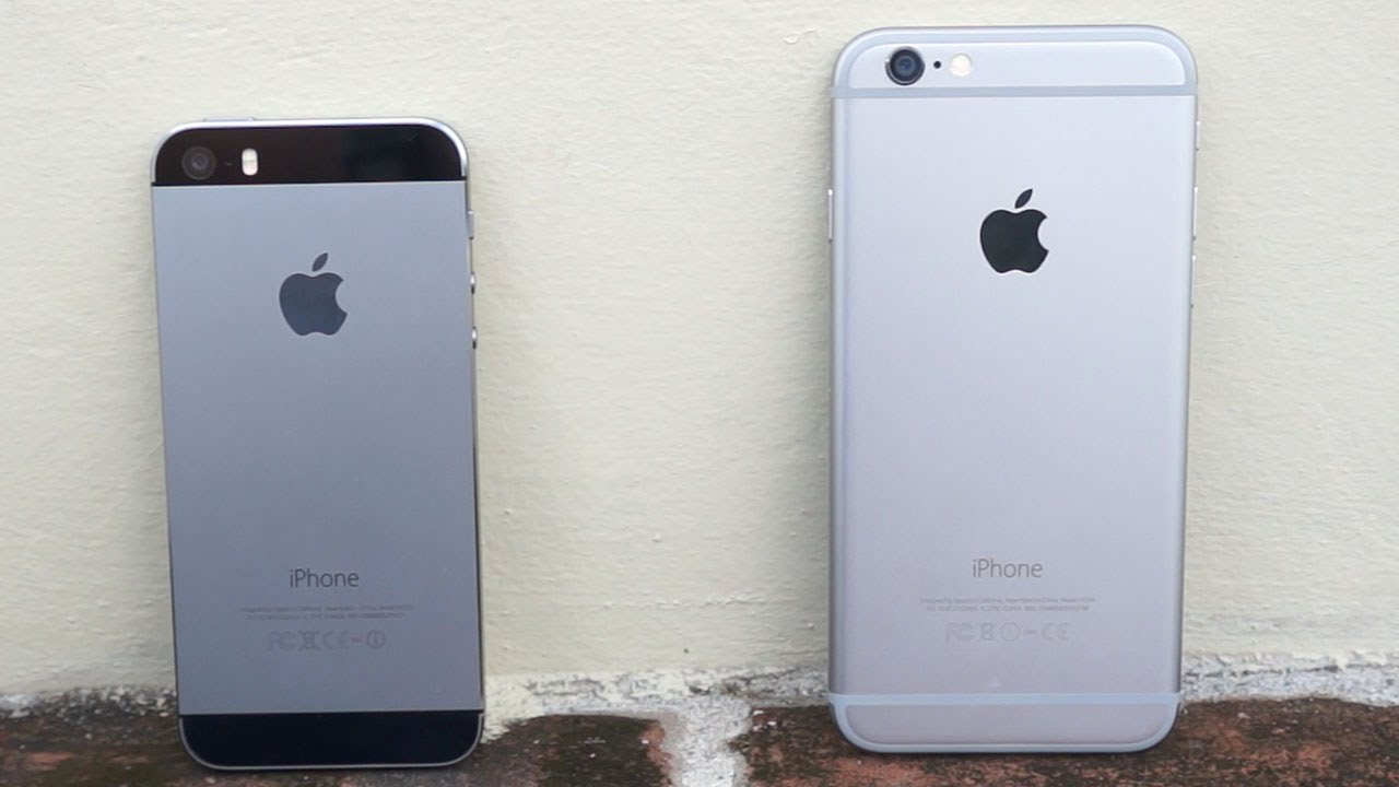 new arrival 55076 efe0d iPhone 6 vs iPhone 5s - Size does matter | Pocketnow