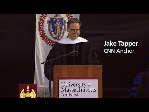 Jake Tapper's Keynote Address at UMass Amherst Undergraduate Commencement 2018