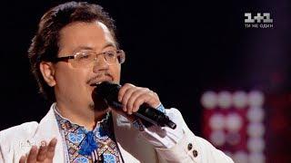 """Yevhenii Prysiazhniuk – """"Oy, smereko"""" – Blind Audition – The Voice of Ukraine – season 9"""
