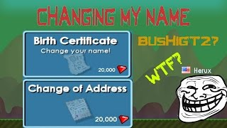 Growtopia: Changing My Name! | WTF? SO HARD!