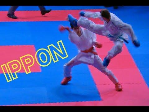 AMAZING IPPON By Brose 😮 BROSE (BRA) Vs SHYMYRBEKOV (KAZ). Karate 1-Premier League Rabat