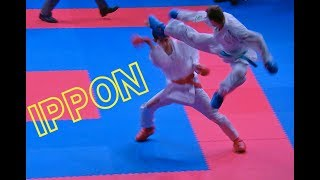 AMAZING IPPON by Brose 😮 BROSE (BRA) vs SHYMYRBEKOV (KAZ). Karate 1-Premier League Rabat