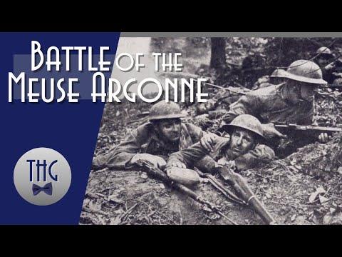 The Battle of the Meuse Argonne