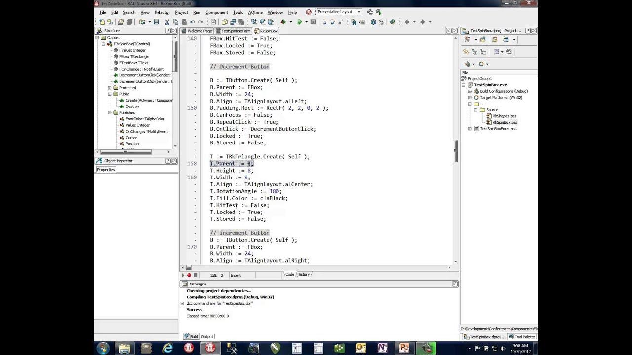 CodeRage 7 - Ray Konopka - Creating Custom FireMonkey Controls with Delphi  XE3