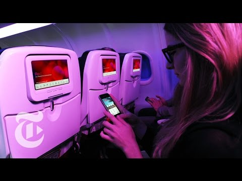 In-Flight Entertainment Gets High-Tech | Molly Wood | The New York Times