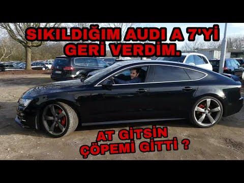 Audi A7 2017 ''TR'de ilk kez'' Test