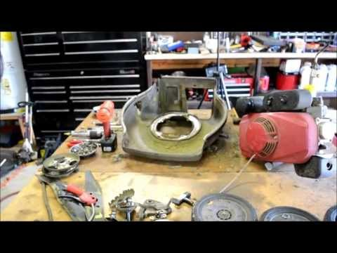 HONDA LAWN MOWER HRC216 K3 DECK ISSUES AND WHATS GOING ON IN THE SHOP TODAY