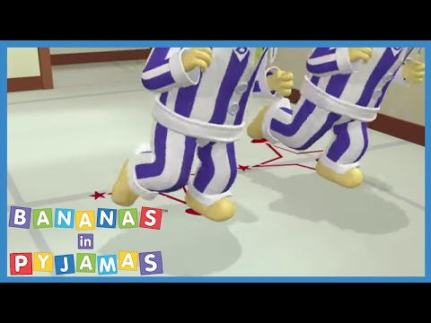 the-banana's-teach-bernard-how-to-dance---bananas-in-pyjamas-official