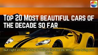 TOP 20 OF THE WORLD'S MOST BEAUTYFUL CARS