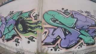 Graffiti - Ghost EA ZNC - Urbex Burners