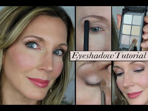 Mature eye makeup tutorial