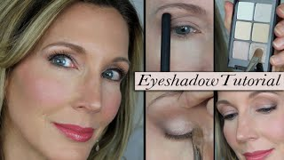 """Eyelid Lift"" Eyeshadow Tutorial for Mature Hooded Eyes"