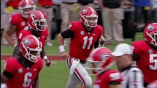 Jake Fromm vs. Middle Tennessee University 2018