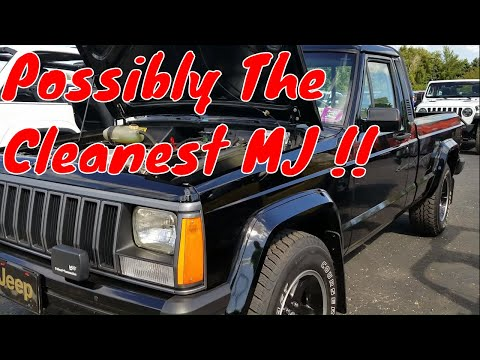 The Cleanest Jeep Comanche I have Ever Seen