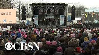 Women\'s marches take place across the U.S.