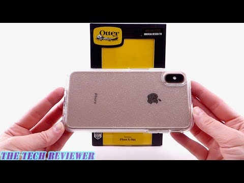 otterbox-symmetry-stardust:-crystal-clear-protection-with-glitter-for-iphone-xs-max!