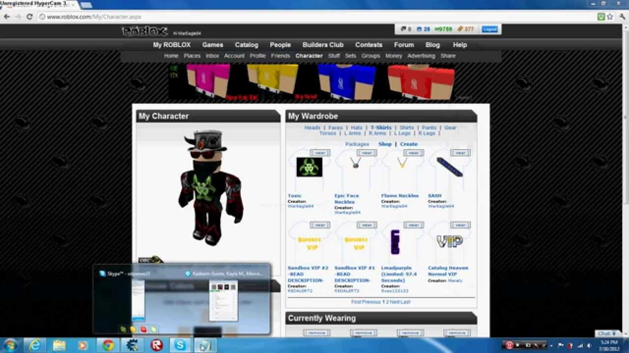 Roblox - How to get Free Robux and Tix (NO SCAM) 2012 ...