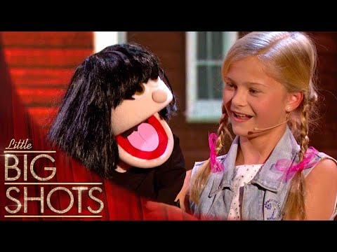 Thumbnail: 12yr old ventriloquist takes control of little Dawn | Little Big Shots