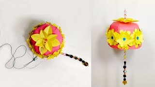 Easy to Make Beautiful Wall Hanger for Room Decoration | Jarine