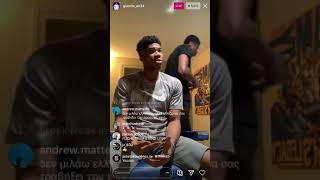 Giannis Antetokounmpo top favorite soccer player