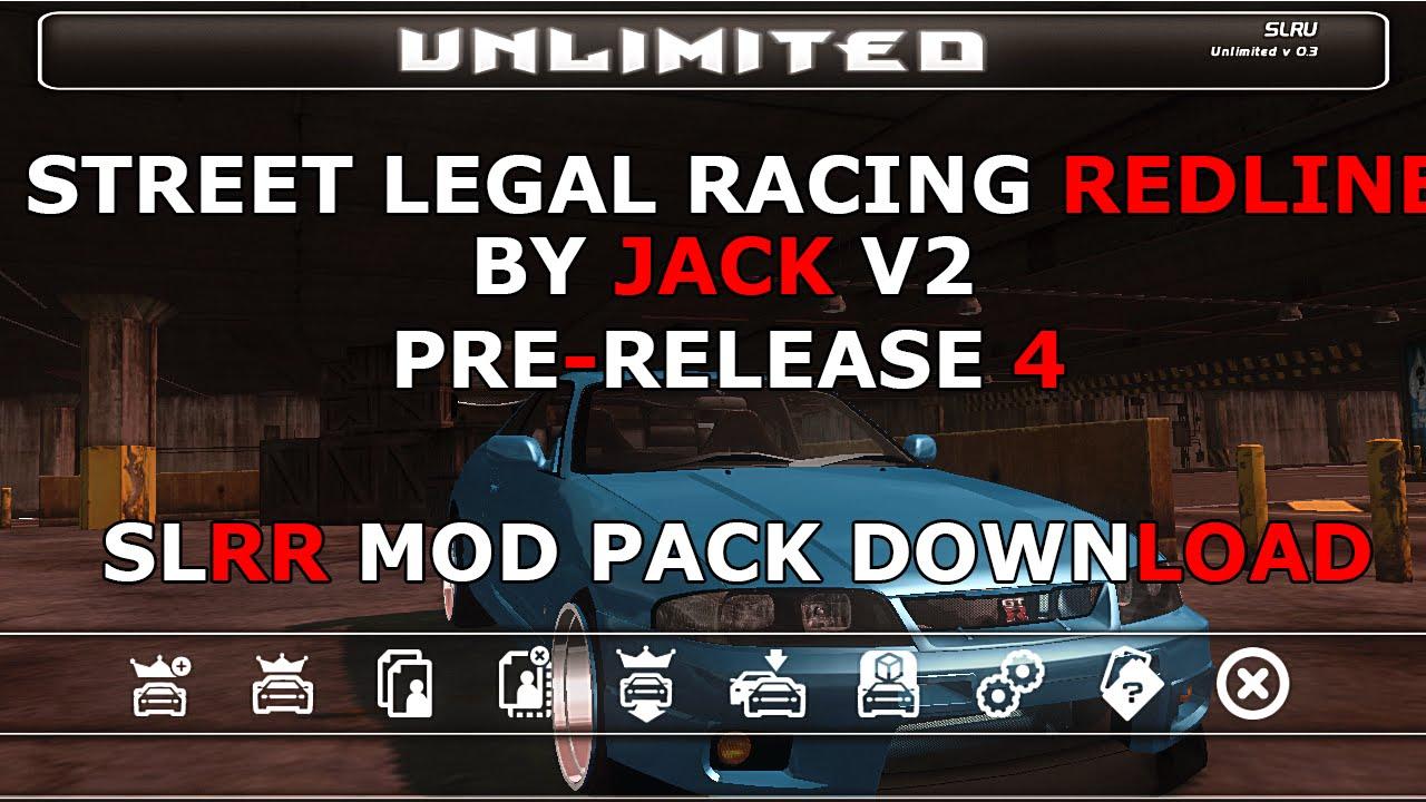 street legal racing redline cars mods download