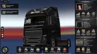 Euro Truck Simulator 2 как сделать много денег и любой уровень.