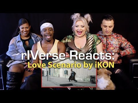 riverse-reacts:-love-scenario-by-ikon---m/v-reaction