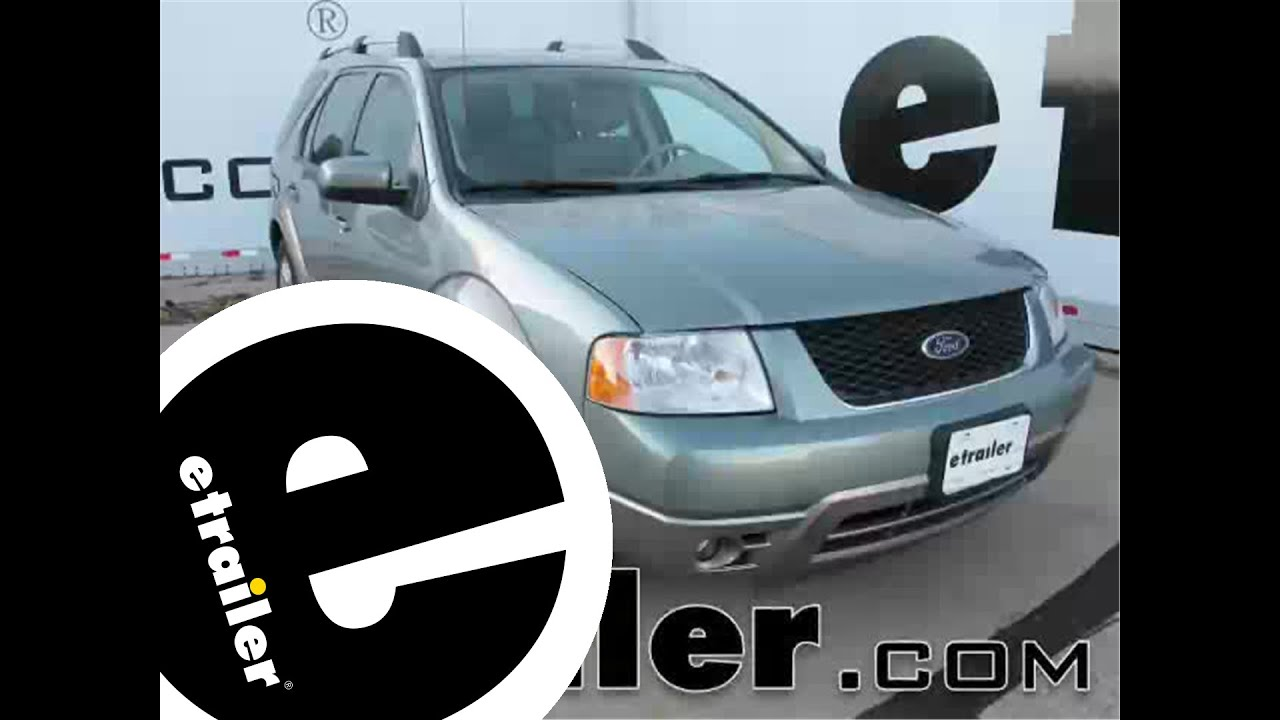 etrailer | Trailer Wiring Harness Installation - 2005 Ford Freestyle -  YouTubeYouTube