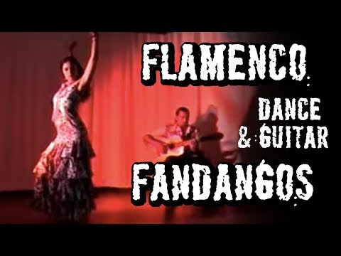 Flamenco dance, Flamenco guitar.  Fandangos  Arleen Hurtado and Ben Woods