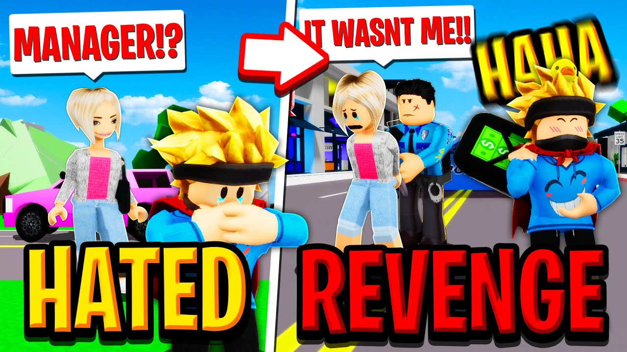 The HATED CHILD gets REVENGE on KAREN Family in Roblox BROOKHAVEN RP!!