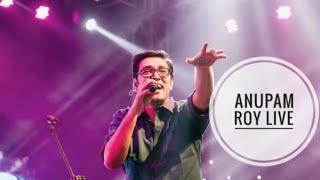 Ekhon Onek Rat  :  Anupam Roy Live Full Video ....